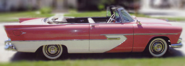 1956 Plymouth Belvedere Convertible: A.K.A. The Forward Look!